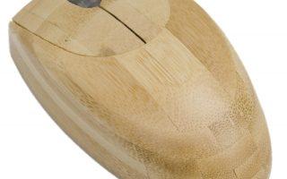 Comment avoir une souris en bambou sur un mac ?